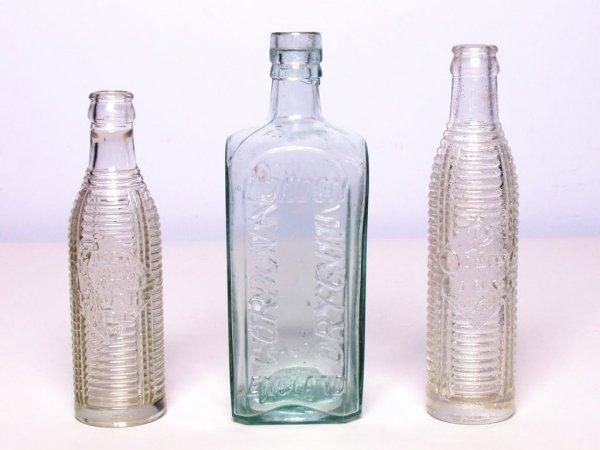 17: Three Old Bottles