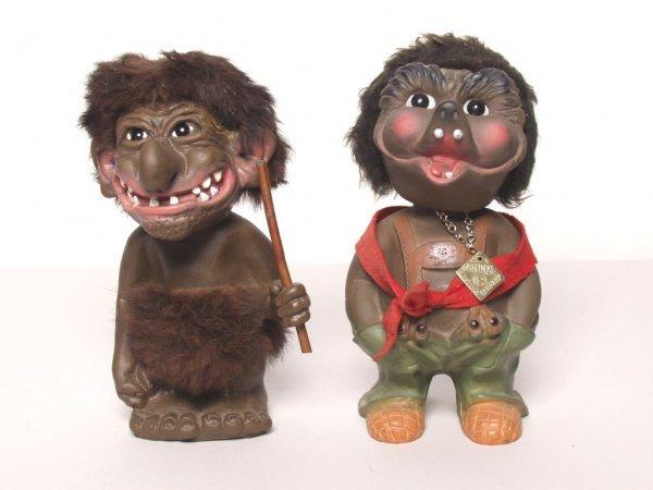 401: Two Troll Figurines
