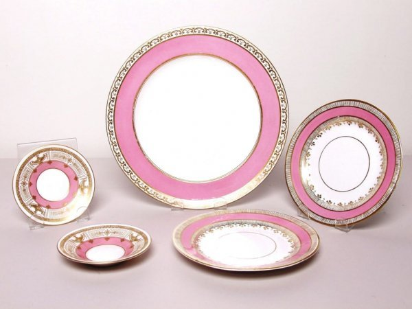 403: 5 Items Estate Porcelain