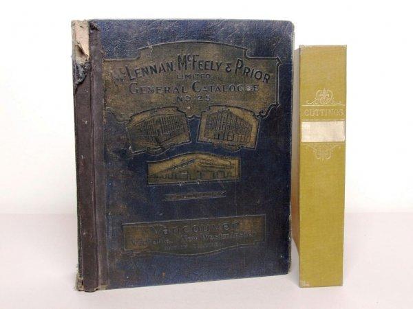 409: Books: Catalogue and Scrapbook