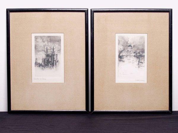 416: Pair of Vintage Engravings
