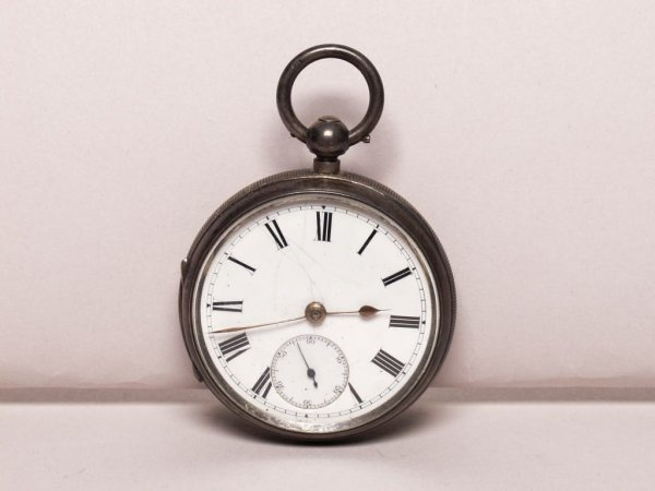 19: Silver Cased Pocket Watch