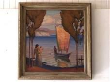 114: American Painting: Warren Chase Merrit