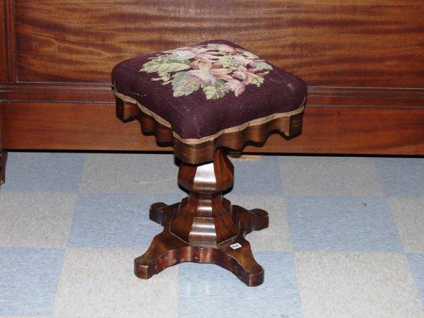 408: Furnishings: Victorian Piano Stool