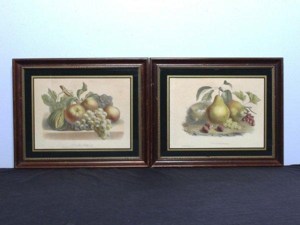 422: Two Antique Art Prints