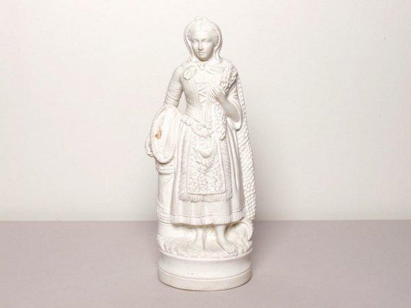 423: Parian Ware Neapolitan Figure