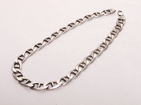 1: Italian Sterling Silver Necklace