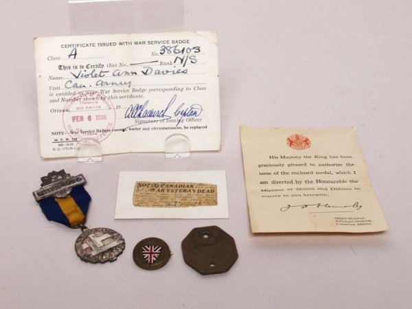 5: Military Service Items