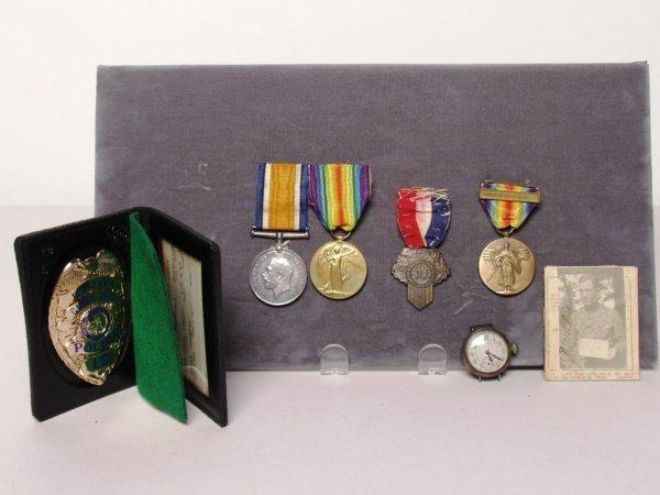 6: U.S.N.A.F. Naval Airforce Medals (WWI)