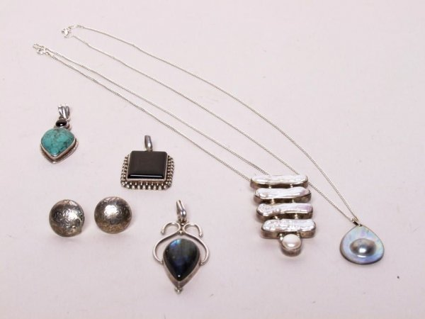 11: Lot of Sterling Silver Jewelry
