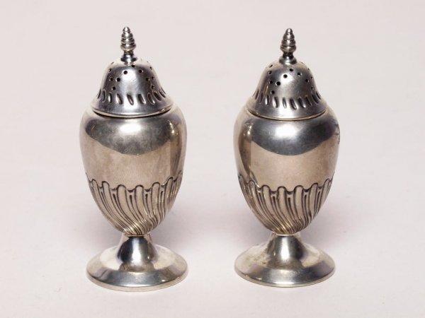 14: Pair of British Sterling Shakers