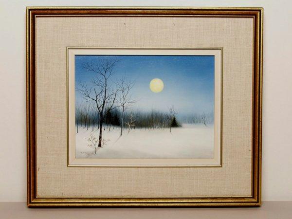 16: Canadian Art: Oil on Masonite