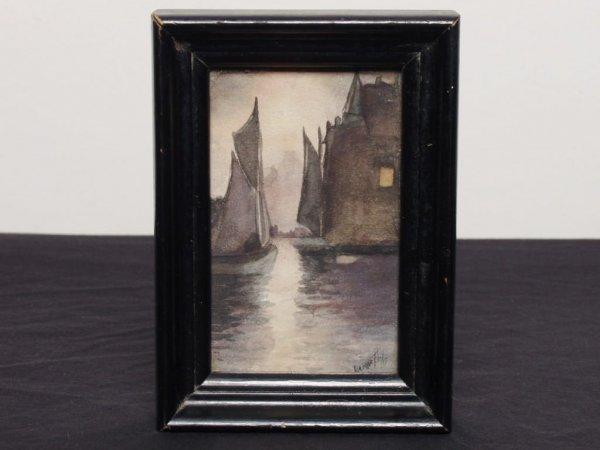 17: British Watercolour - Moonlit River