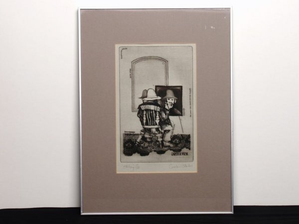 21: Canadian Etching by Graham Clarke