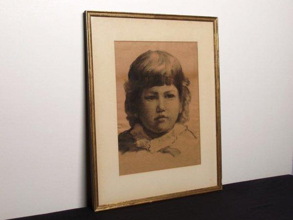 22: Canadian Charcoal Portrait