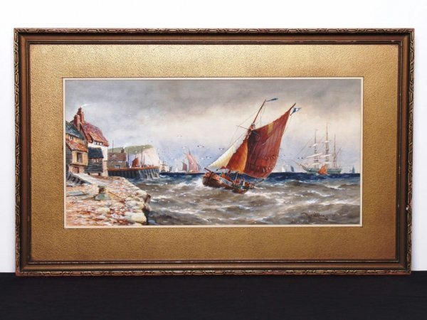 23: British Watercolour Signed R.T. Wilding