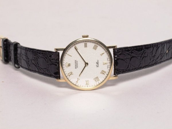 58: Estate Jewelry: Rolex Cellini Watch