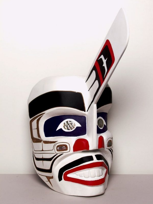 127: Native Art: Killer Whale Mask