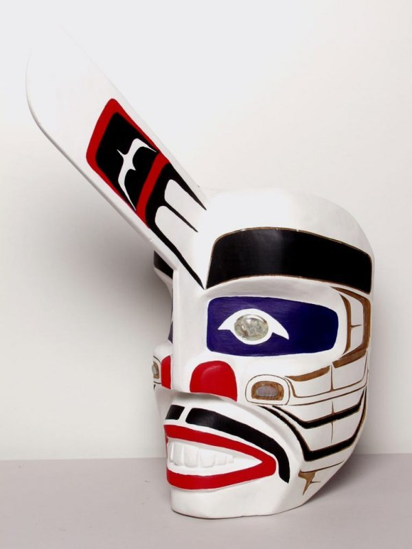 127: Native Art: Killer Whale Mask - 2