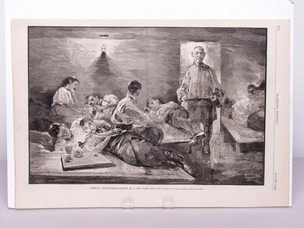 318: American Illustration: New York Opium Den