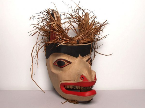 412: Native Art: Bear Mask by Sean Leo