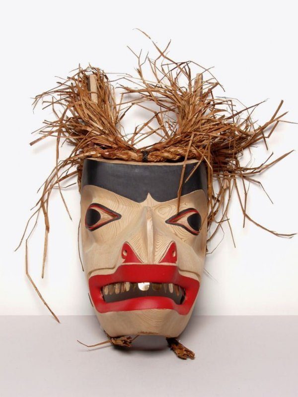 412: Native Art: Bear Mask by Sean Leo - 2