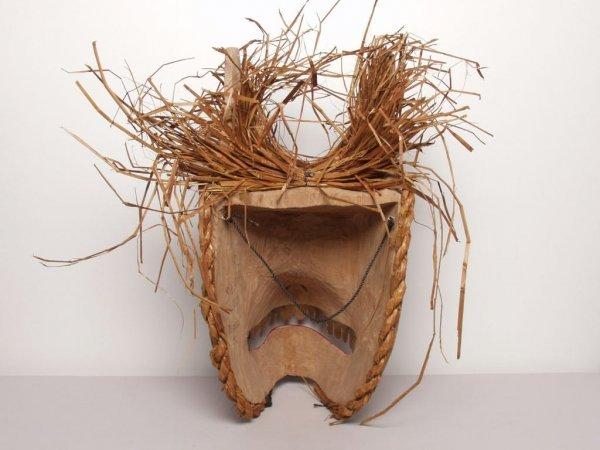 412: Native Art: Bear Mask by Sean Leo - 4