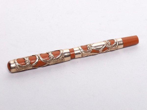 723: Vintage Filigree  Design Gold Filled Pen