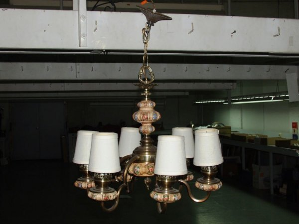 9: Ceiling Light Fixture