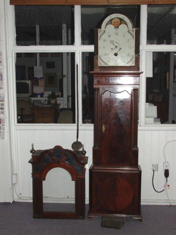 71: Fine Georgian Grandfather Clock