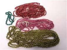 103: Lot of Old Peking Glass Beads