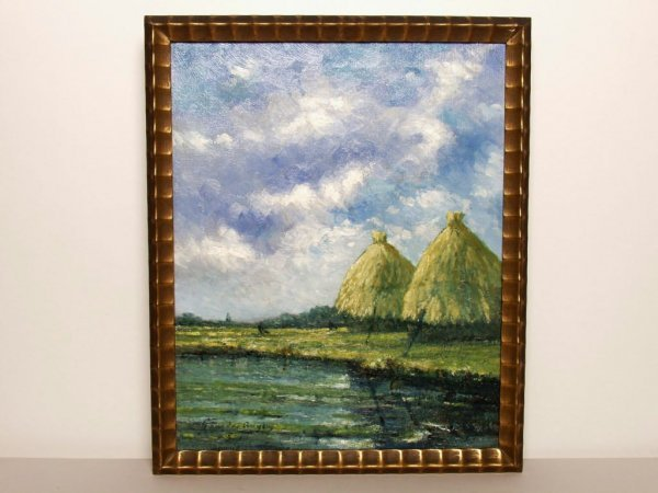 404: Dutch Oil Painting on Canvas