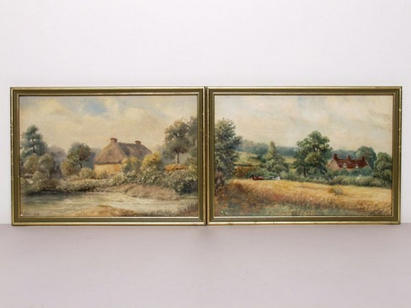 407: Pair of 19th C. English Watercolours