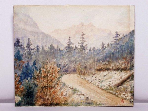 408: Canadian Watercolour