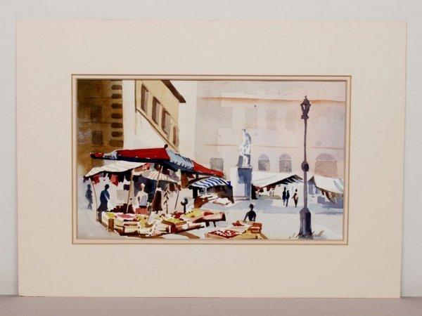 410: Watercolour Signed J. Macneill