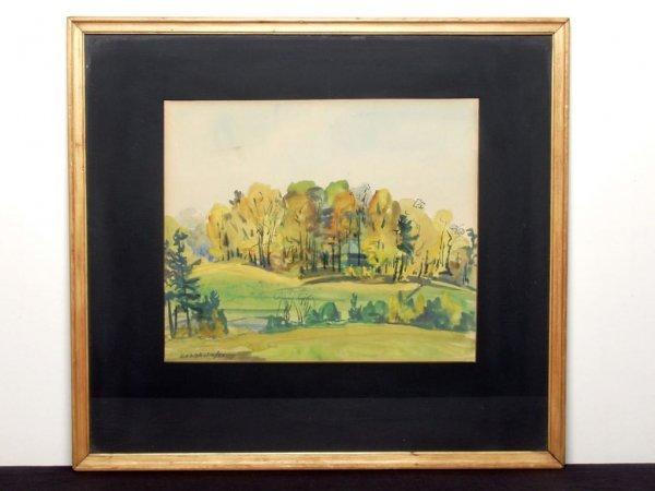 411: Canadian Art: Signed H. Chisholm 50
