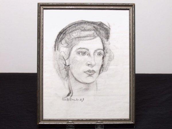 412: Canadian Art: Charcoal Sketch