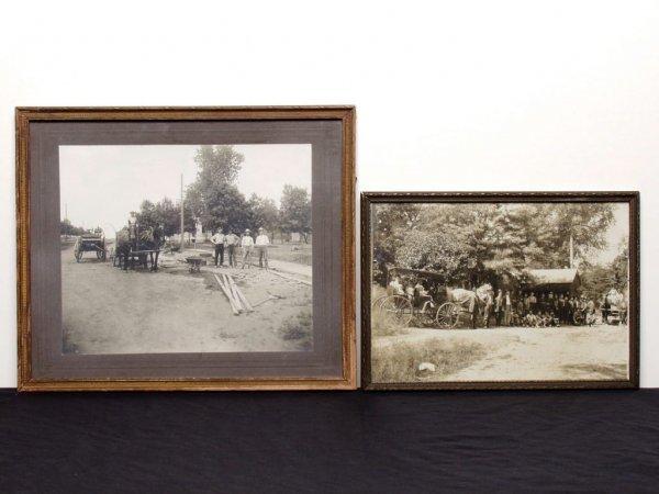 414: 2 Vintage Photographs