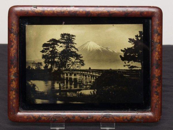 415: Japanese Orotone or Goldtone of Mt. Fuji