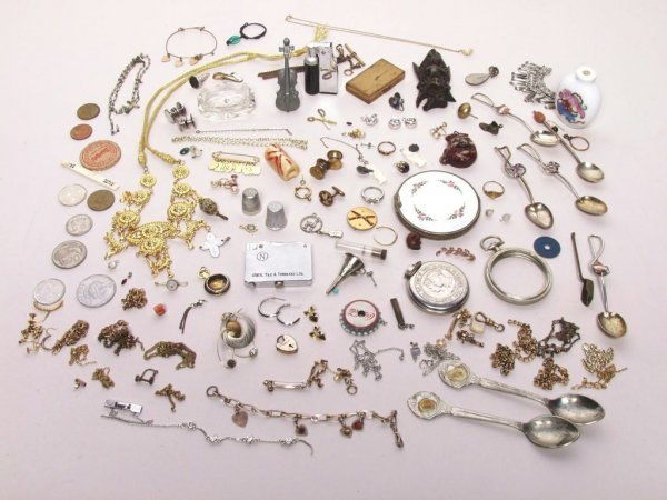 418: Lot of Miscellaneous Estate Jewelry etc.
