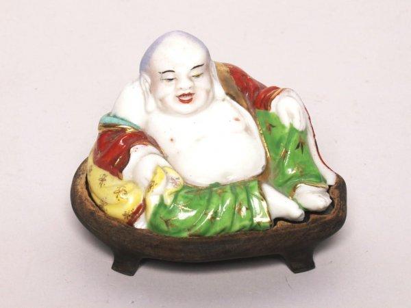 421: Asian Art: Porcelain Buddha Ca. 1910