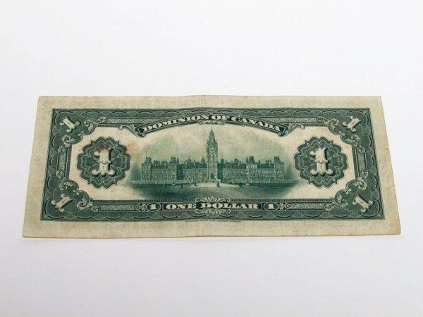 587: Canadian Currency: 1917 One Dollar Bill - 2