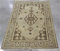 Antique Persian Kashan 4'10'' x 6'10'' Wool Rug