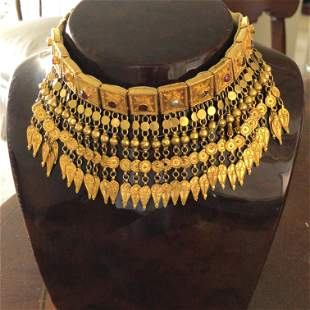 Antique 22K Yellow Gold necklace.