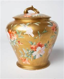 English T.F & S Ltd Porcelain Candy Jar