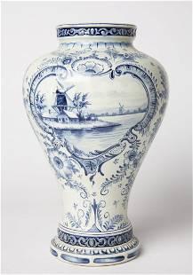 Antique Royal Bonn German Hand Painted Porcelain Vase
