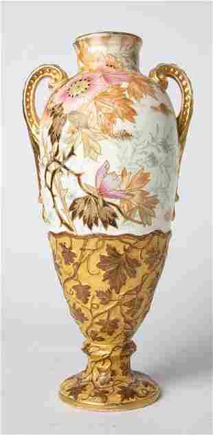Royal Bonn Germany Floral Porcelain Vase