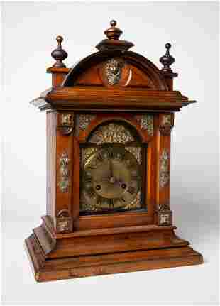 Early 20th C German Table Clock