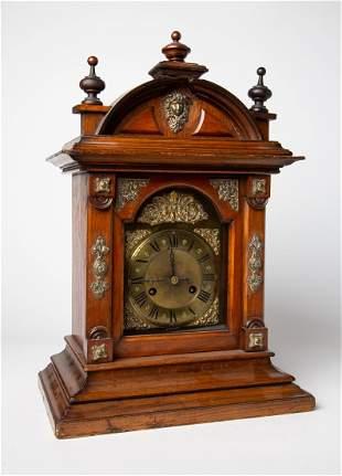 Early 20th C JUGHANS German Table Mantle Clock
