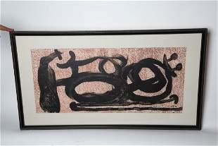 JOAN MIRO - MUCH ADO - 1967 - LITHOGRAPH